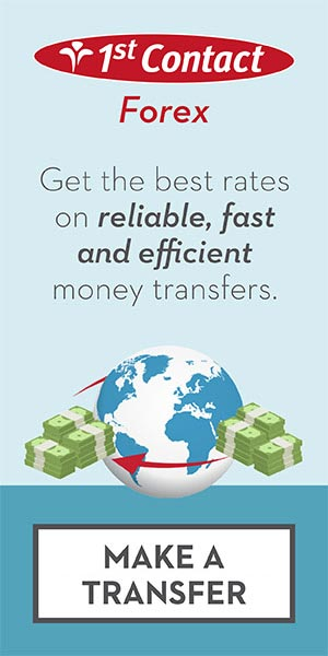 1st Contact Forex - Get the best rates on reliable, fast and efficient money transfers