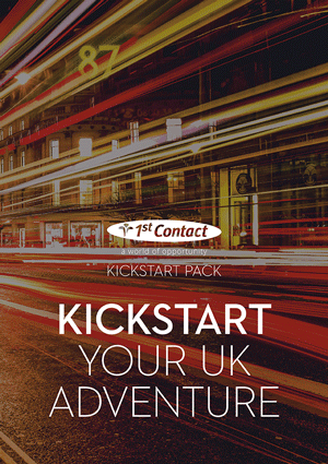 The Kickstart Pack is your guide to life in the UK