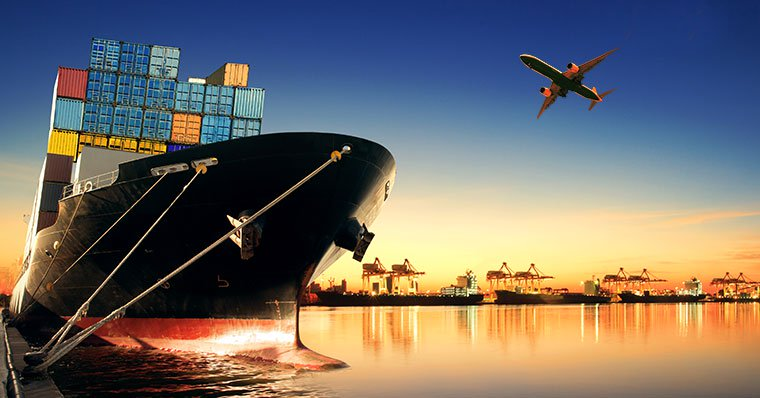 container-ship-and-plane